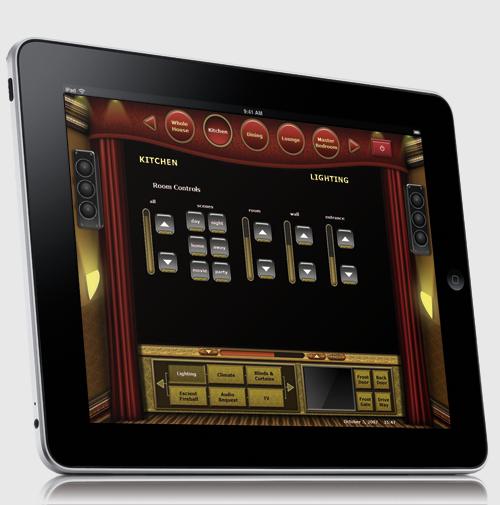 Interface sur Ipad
