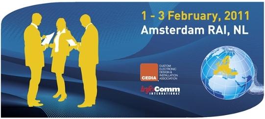 Invitation gratuite pour l 39 ise 2011 amsterdam blog for Salon audiovisuel amsterdam