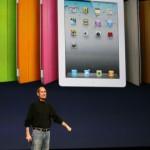 Steve Jobs lors de la présentation de l'iPad2