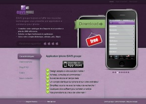 Site mobile eavs