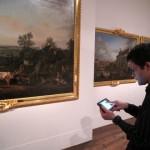 Nouvelle tablette tactile au Palais impérial de Compiègne
