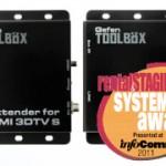 Gefen ToolBox récompensé à l'Infocomm 2011 !