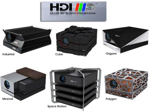HDI projecteurs 3D 100% laser