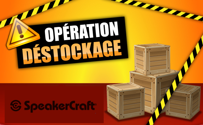 destockage Speakercraft