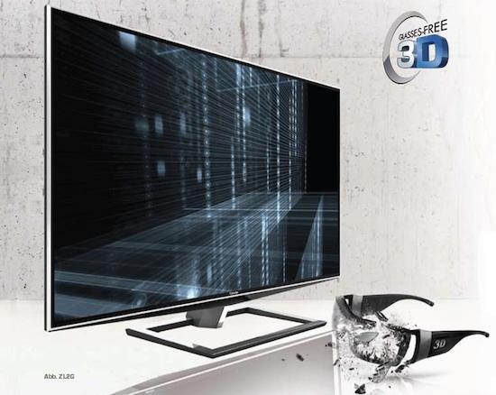 Toshiba glass free 3d TV