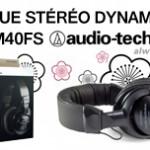 Casque professionnel Audio-Technica ATH-M40FS