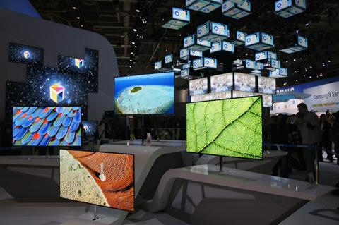 Les écrans du futur au CES
