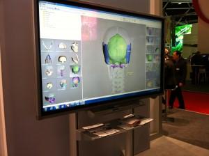 Ecran LCD tactile PN-L702B Sharp 70 pouces