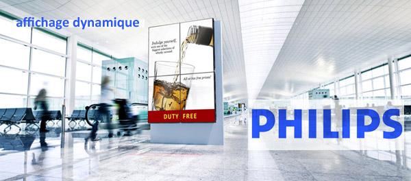 affichage dynamique philips