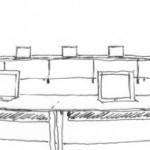 Le CONVERS REVOLUTO d'Element One, un écran avec microphone intégré