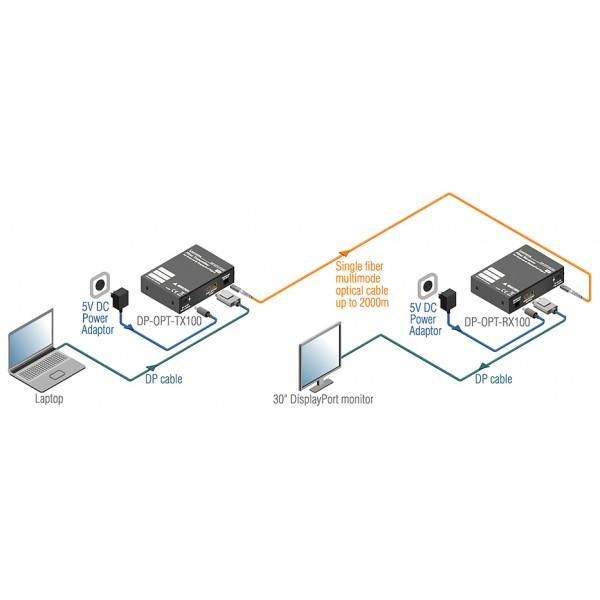 DP-OPT-TX100 schéma