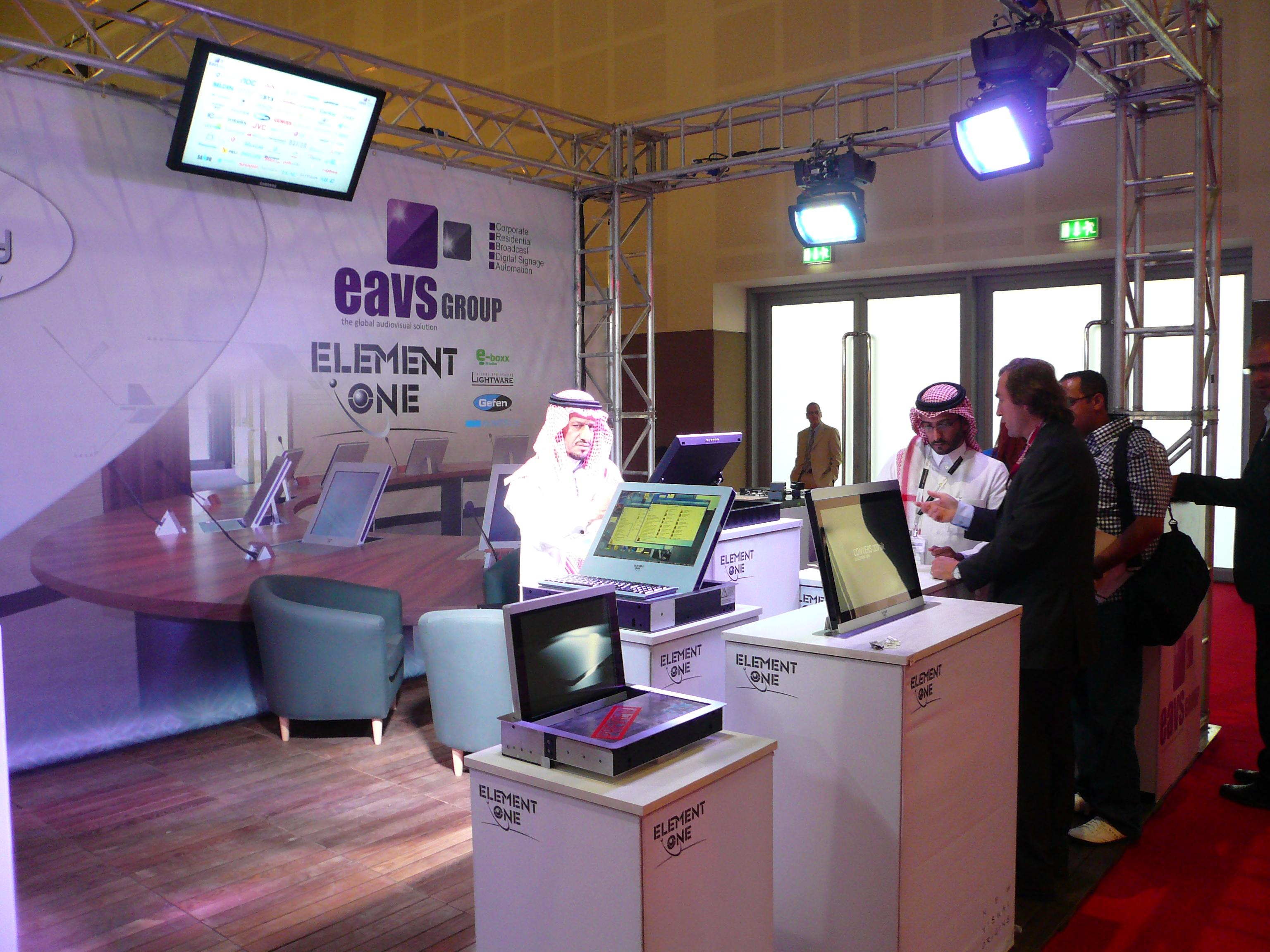 EAVS Infocomm MEA 2012 Dubaï
