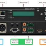 Lightware Modex : composez sur mesure vos extendeurs fibre et cuivre