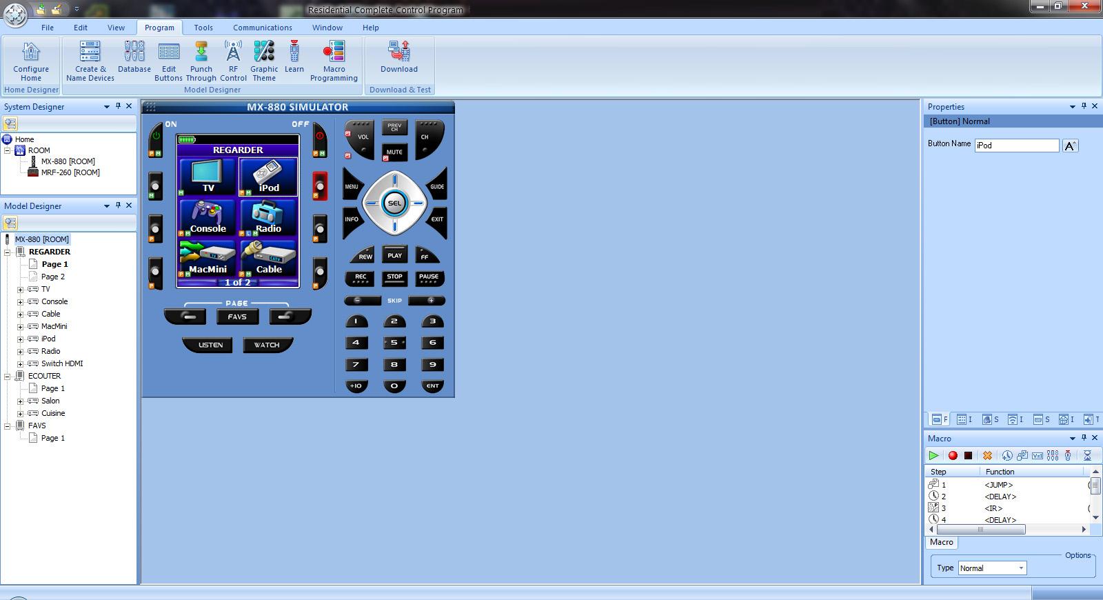 urc complete control program