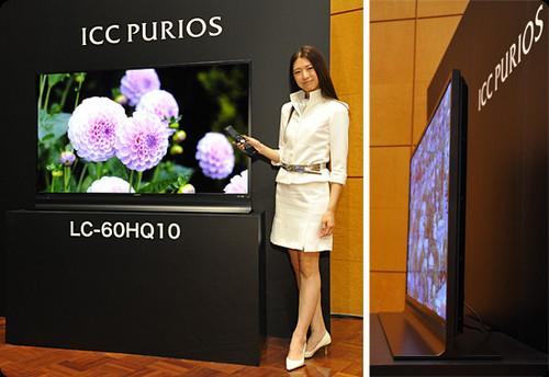 Sharp ICC Purios LC-60HQ10 4K Ultra HD TV