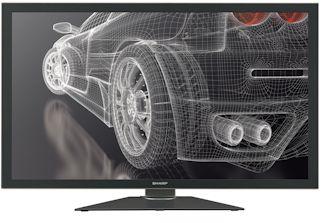 Sharp PN K321H Sharp dévoile le premier écran 32'' à ultra haute résolution basé sur la technologie IGZO
