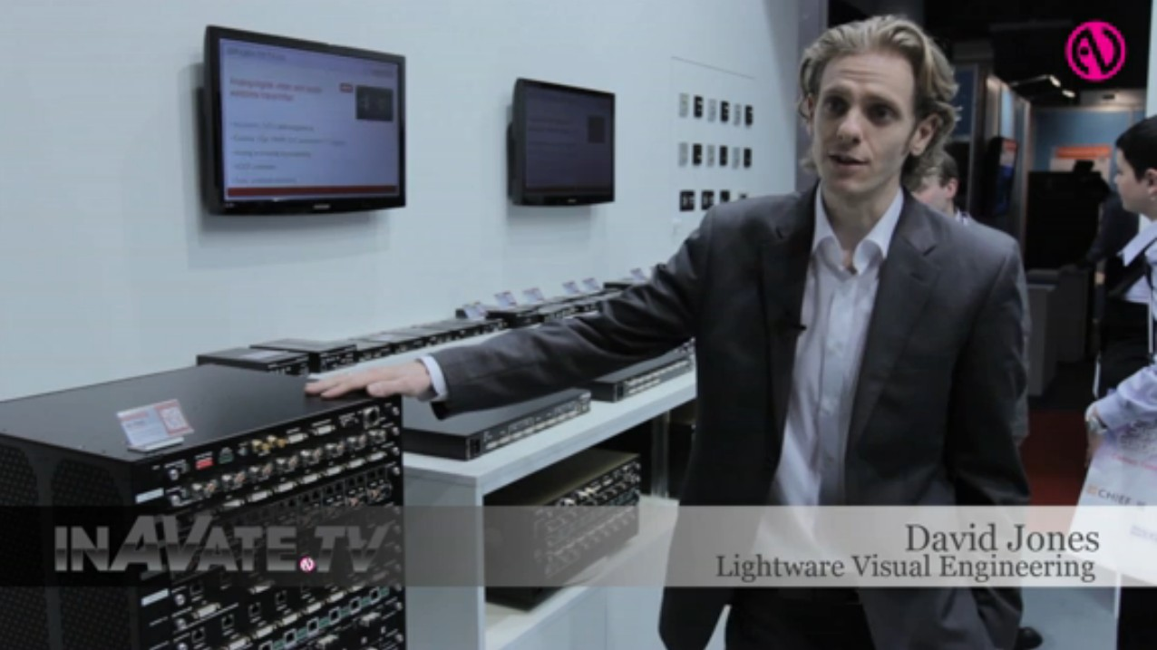 David Jones Lightware Matrixes MX ISE 2013