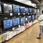 Un million d'écrans plats vendus en 2012