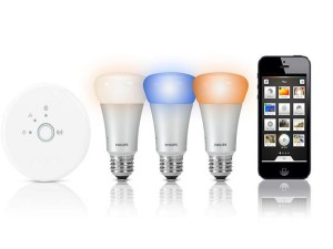 03 philips hue ampoule led 300x225 10 objets connectés pour une maison intelligente