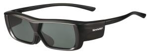 Paire de lunettes 3D Sharp AN-3DG20-B