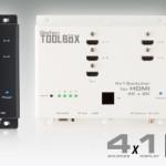 GEFEN annonce un swticher 4×1 pour HDMi 4K