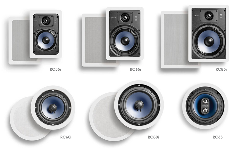 polk rc Guide : les enceintes encastrables Polk multiroom, HiFi et THX