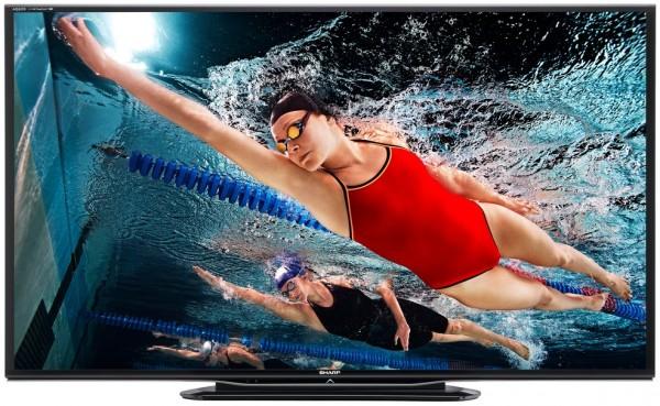 Téléviseur 3D LCD Sharp LC-90LE757E