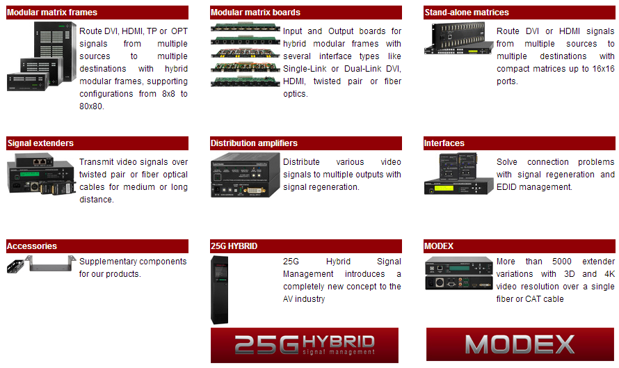 Lightware products