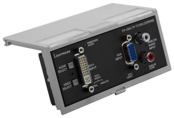 Boitier de sol FP-UMX-TP-TX100 Lightware