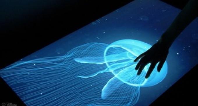 Disney Research ecran tactile toucher