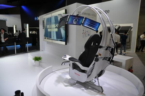 Sharp fauteuil-diagnostic-medical-ceatec_2