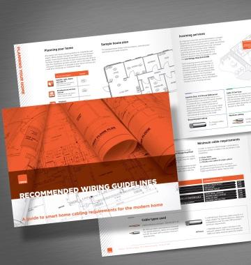 CEDIA : Guide de recommandations de câblage