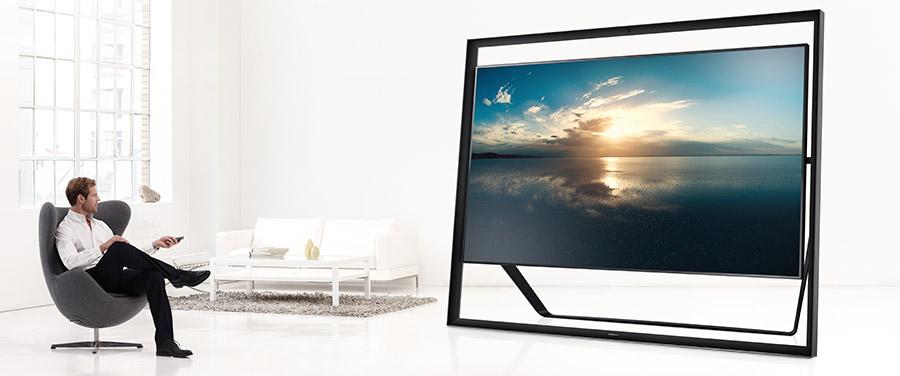 "Samsung 85"" UHD TV - 85 S9"