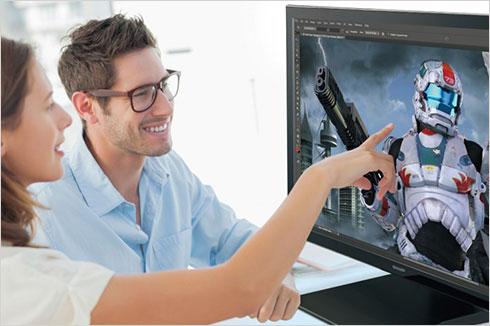 Écran LCD tactile professionnel 31.5 pouces PN-K322BH Sharp