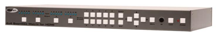 Gefen EXT-HD-SL-444 matrice seamless