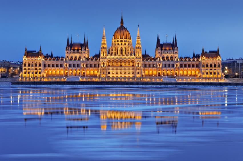 Parlement Danube Budapest