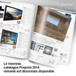 Le nouveau catalogue Projecta est disponible