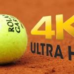Roland-Garros 2014: jeu, set et match pour la télévision UHD 4k
