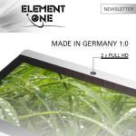 Element One intègre une caméra HD dans ses moniteurs