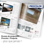 Procolor, Projecta, Da-Lite : encore plus de solutions de projection