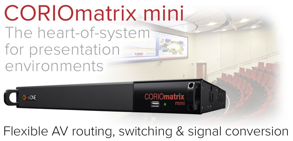 tvONE Corio Matrix mini