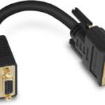 Nouveau cordon adaptateur VGA/DVI pour entrées DVI-I