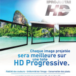 HD Progressive est maintenant disponible sur Projecta