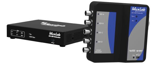 Muxlab 6G-SDI Extender
