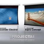 Les avantages d'une toile de projection tendue Projecta