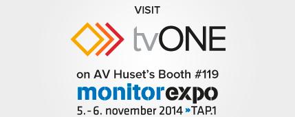 tvONE Monitor Expo