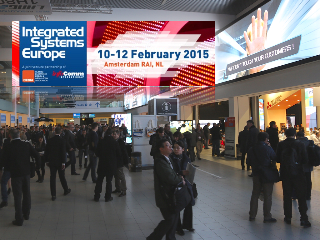 Ise integrated systems europe 2015 36 000 m2 d for Salon audiovisuel amsterdam
