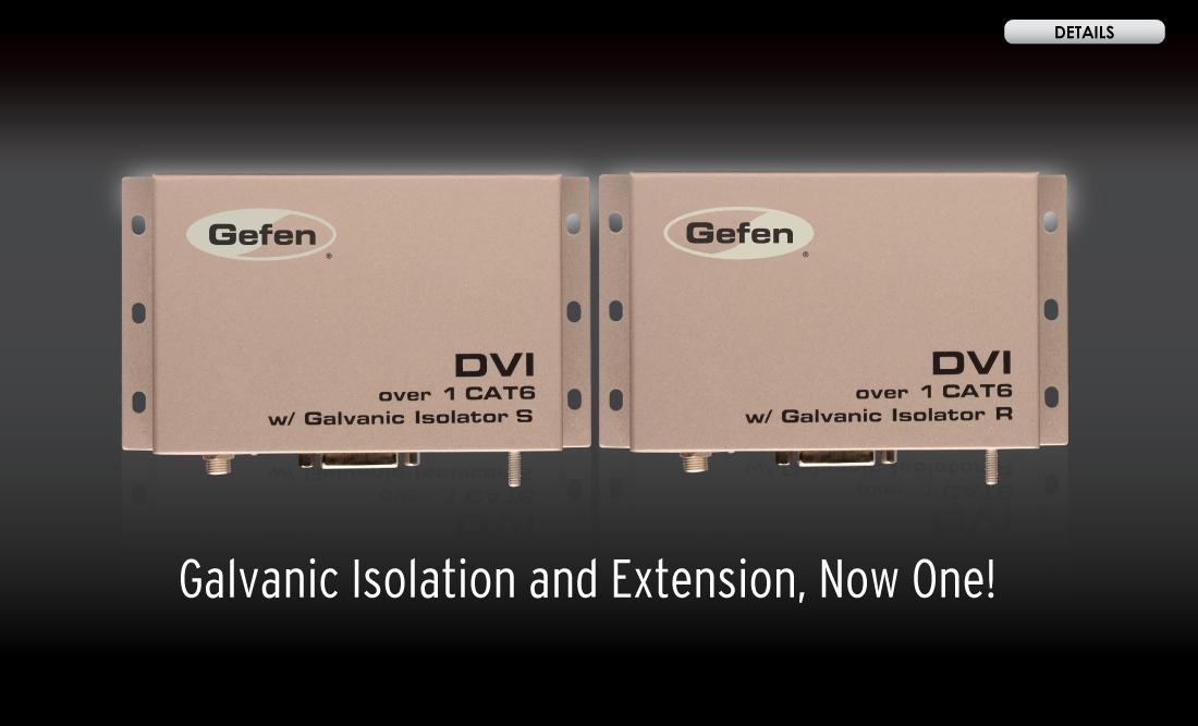 Gefen EXT-DVI-1CAT6-GI