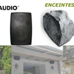 Les enceintes extérieures de CURRENT AUDIO