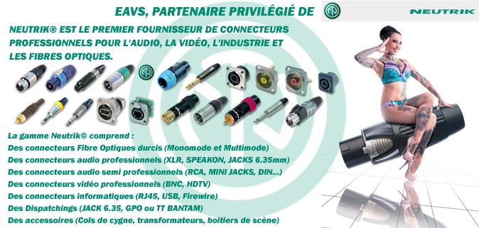 EAVS partenaire privilégié de NEUTRIK